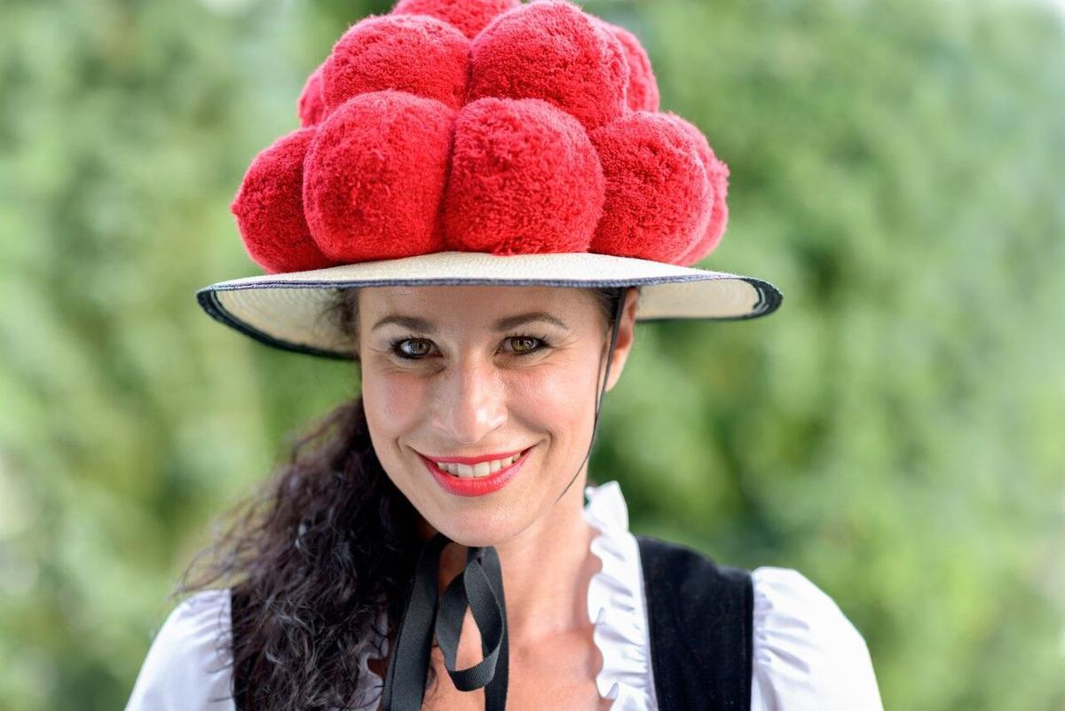The Bollehut costume inspires Black Forest Cake.