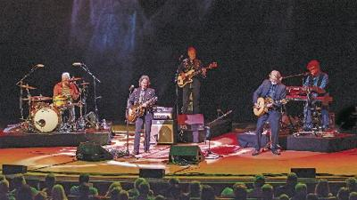 The Nitty Gritty Dirt Band on stage at Atlanta Symphony Hall in 2017.