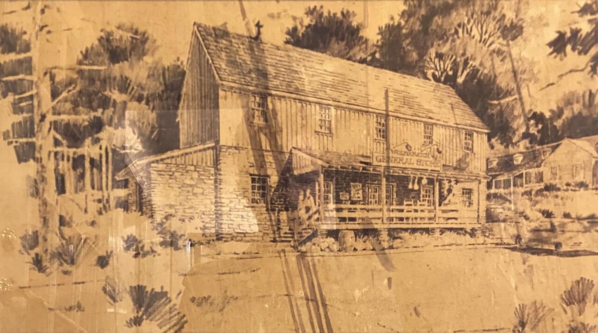The old Village Station.