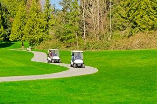 Golf walk