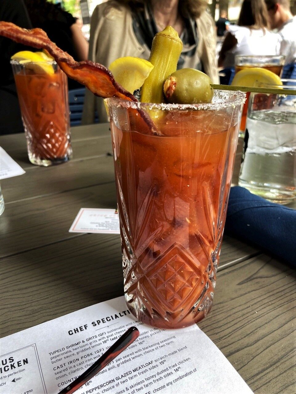 What's brunch without a good Bloody Mary?