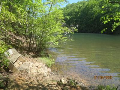 Lake Petit Trail offers many appealing visual elements along its length.