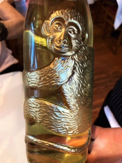 A beautiful design on this Eye of the Monkey Riesling from Affentaler Winzer.