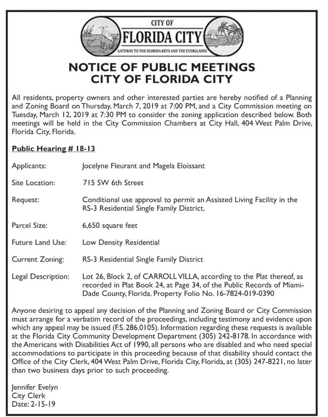 City of Florida City - Public Review