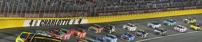 Charlotte Motor Speedway hosted the All Star Race.