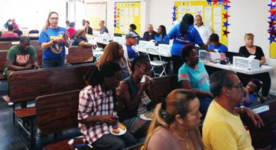 Attendees at the expungement clinic had the opportunity to meet with nearly a dozen agencies offering resources to facilitate seal, expungement, and restorative rights processes.