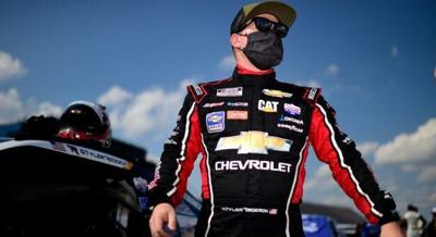 In the hot seat in 16th is Richard Childress Racing's Tyler Reddick.