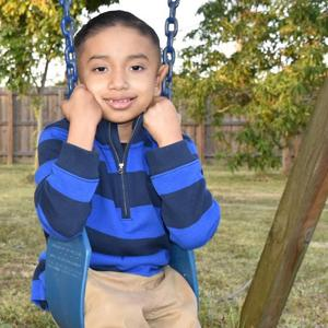 Julian Morales, 7, has been searching for a bone marrow transplant for most of his life.