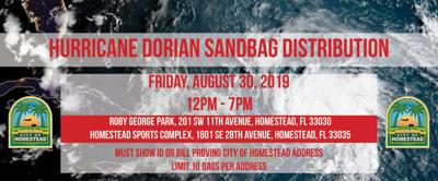 Sandbag Distribution Today