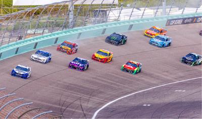 The Homestead Miami Speedway will host all three tiers of NASCAR racing,  October 22 & 23, 2022.