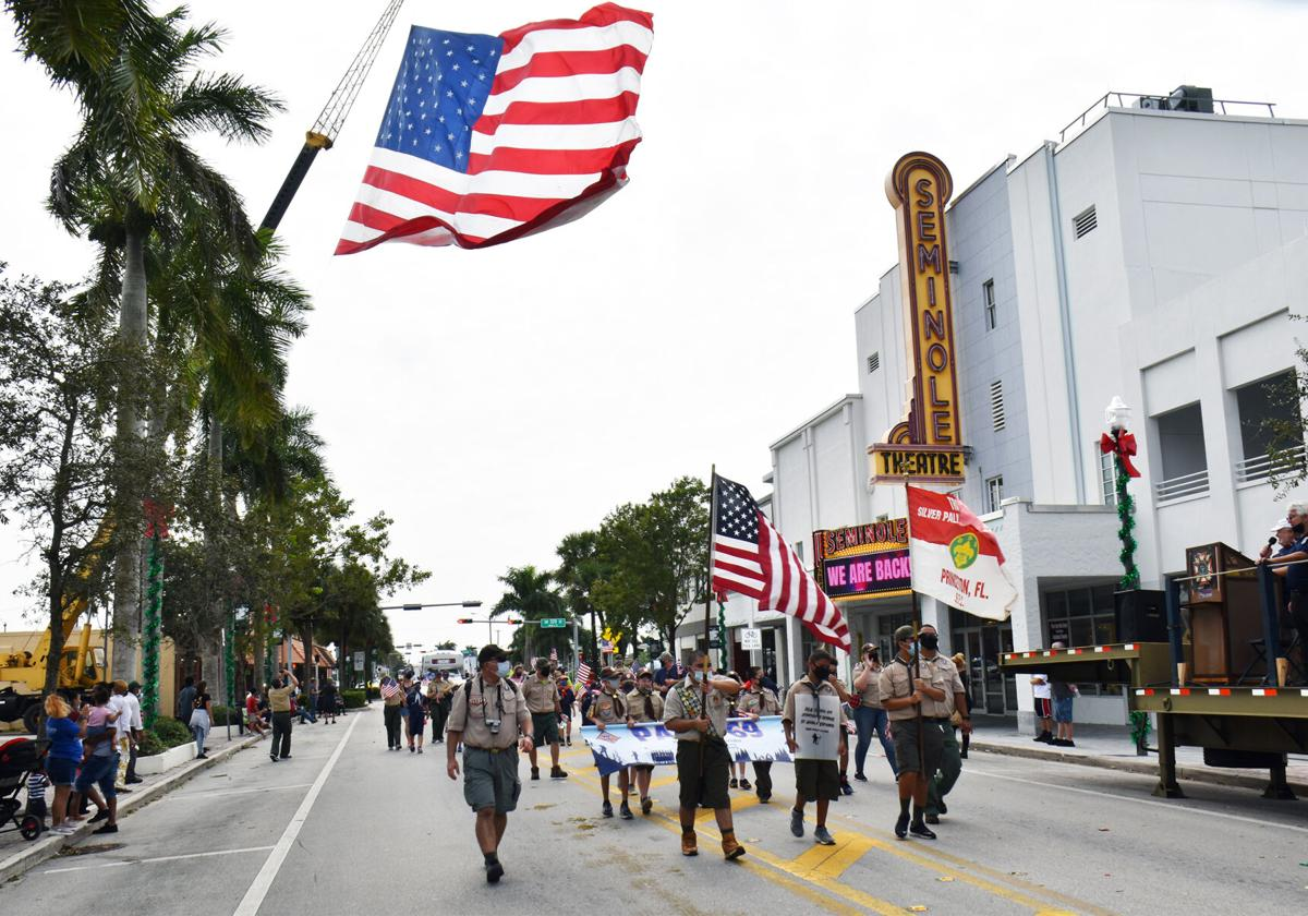 Homestead Veterans Parade 2020