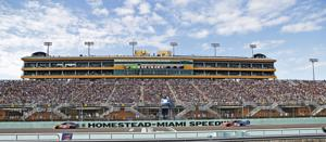 Championship racing at the Homestead-Miami Speedway