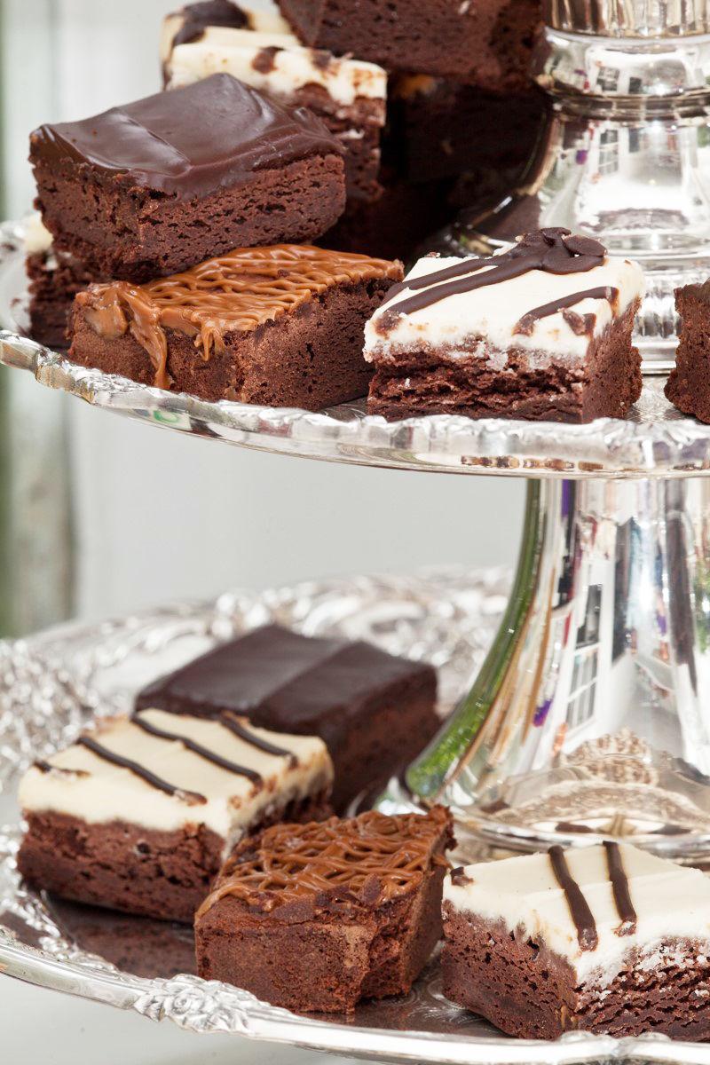 Chocolate Shortbread Squares