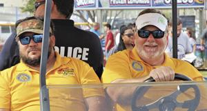 Homestead Rotarians Benny Robaina and Dale Machesic