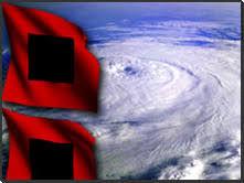 Warning Flag for Hurricanes