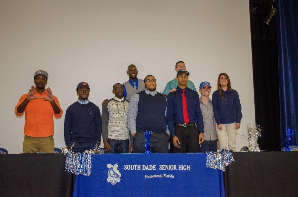 South Dade Signees 2014