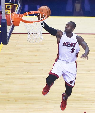 Dwayne Wade retires this year from the Miami Heat