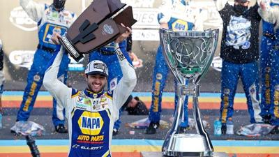 Chase Elliott, at only 24 years old, win his first Cup Series Championship.