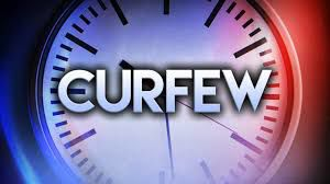 Miami Dade had issued a curfew
