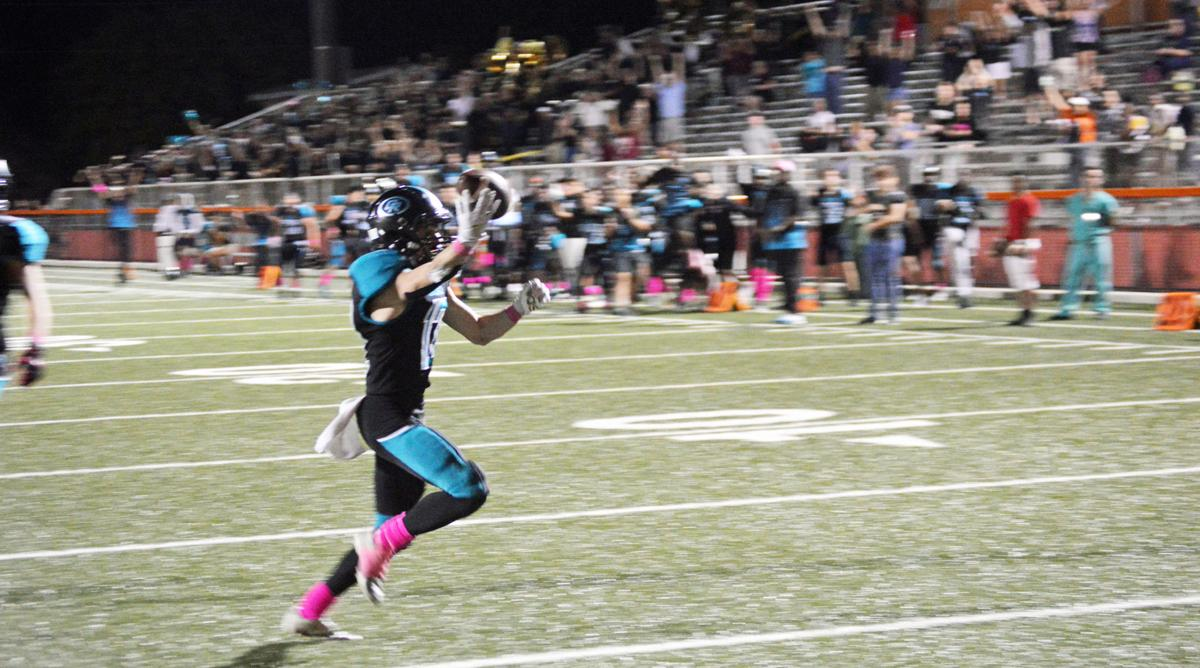Adrian Manach scored the game winning TD in overtime.
