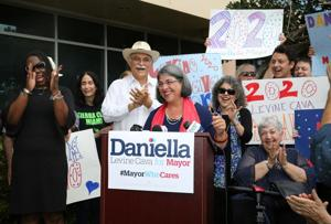 Commissioner Daniella Levine Cava announced her run for Miami-Dade Mayor at a kickoff event on Tuesday, April 2nd