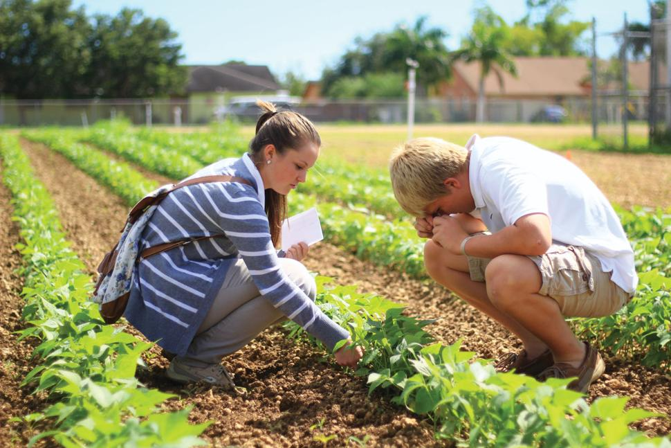 South Dade Agricultural Students