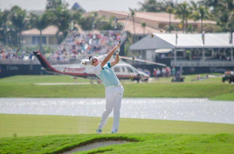 Iam Poulter at Doral