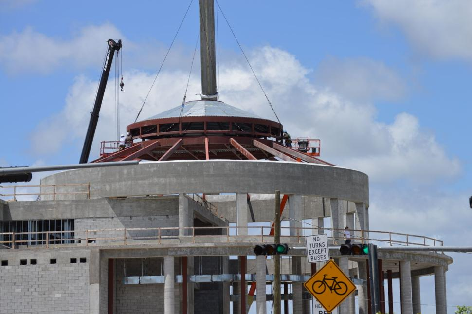 Placing the Dome 5