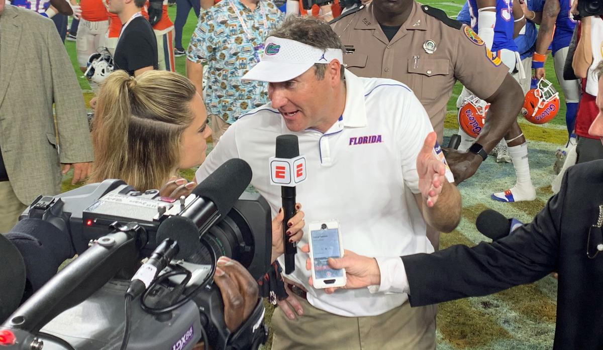 Florida Head Coach Dan Mullen