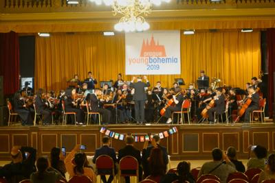 The South Florida Youth Symphony, which won the Gold Medal at the  prestigious Young Bohemian 2019 Music Festival in Prague, Czech Republic, will return to live performances with their February 28 concert at Fairchild Tropical Botanic Garden in Miami.  The concert, sponsored in part by the Kiwanis Club of Homestead-South Dade, is one of South Florida's first live performances since the beginning of the  COVID-19 pandemic.