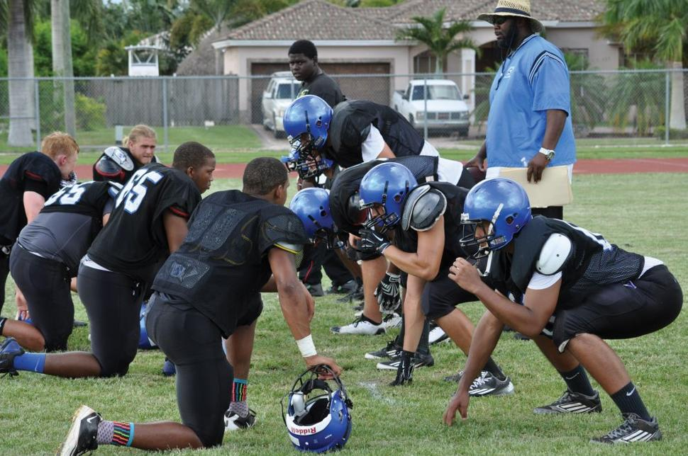 South Dade Practice - Linemen