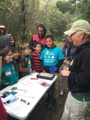 NPS Volunteer Heather Allen