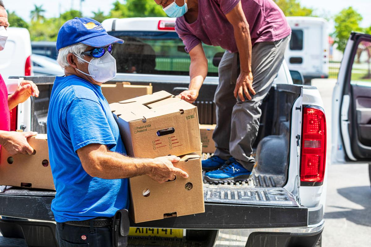 COFFO has tailored their food distributions at housing complexes to deliver to residents who cannot drive.