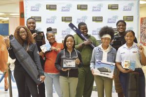 Homestead High School's AV Club received all new  equipment from Homestead-Miami Speedway, helping them  prepare for careers after high school.