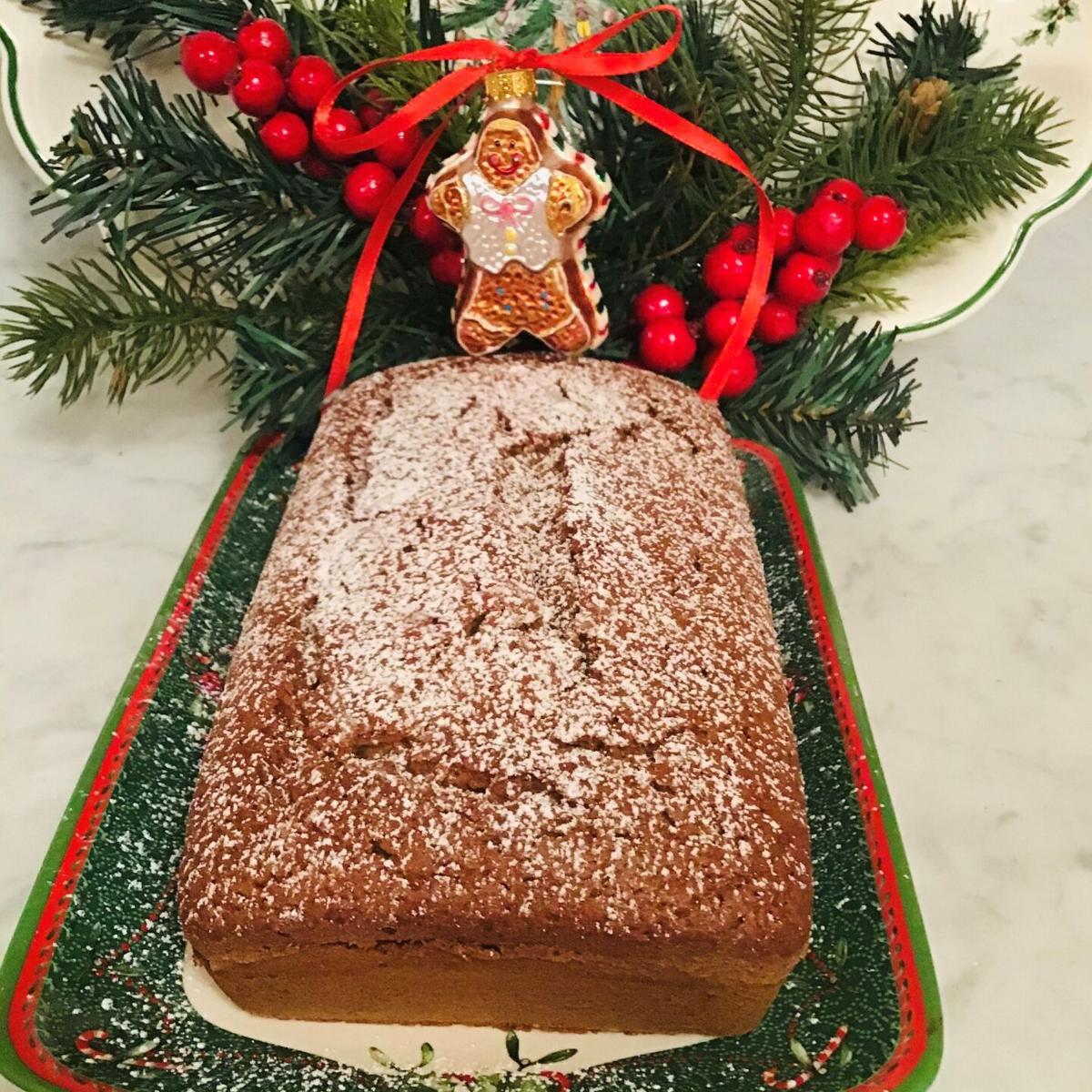 Holiday Gingerbread Loaf