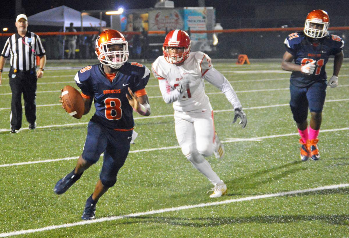 Homestead's Willie Sneed had 120 yards and a touchdown.