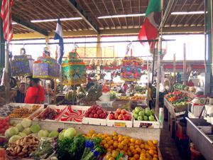 Vendor Booths at the Redland Market Village