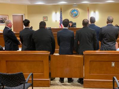 Defendants in poaching case are sentenced in Monroe County Court.