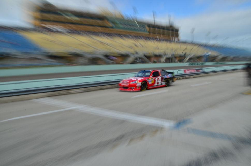 Ford 400 Practice Tony Stewart