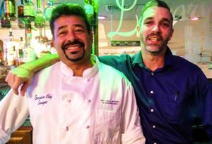 Chef Enrique and Bar Manager Jason Jakway