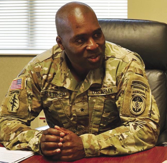 brigadier general antonio fletcher  us army is now
