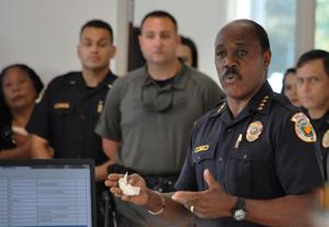 Homestead Police Chief Al Rolle