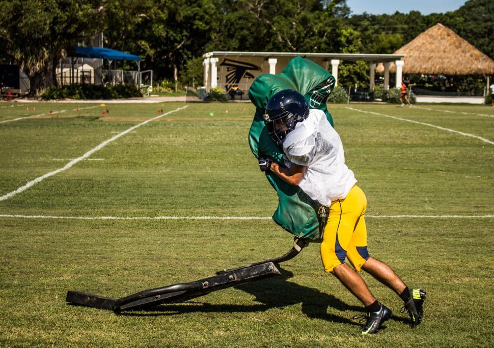 Palmer Trinity Practice - Chad Serrate