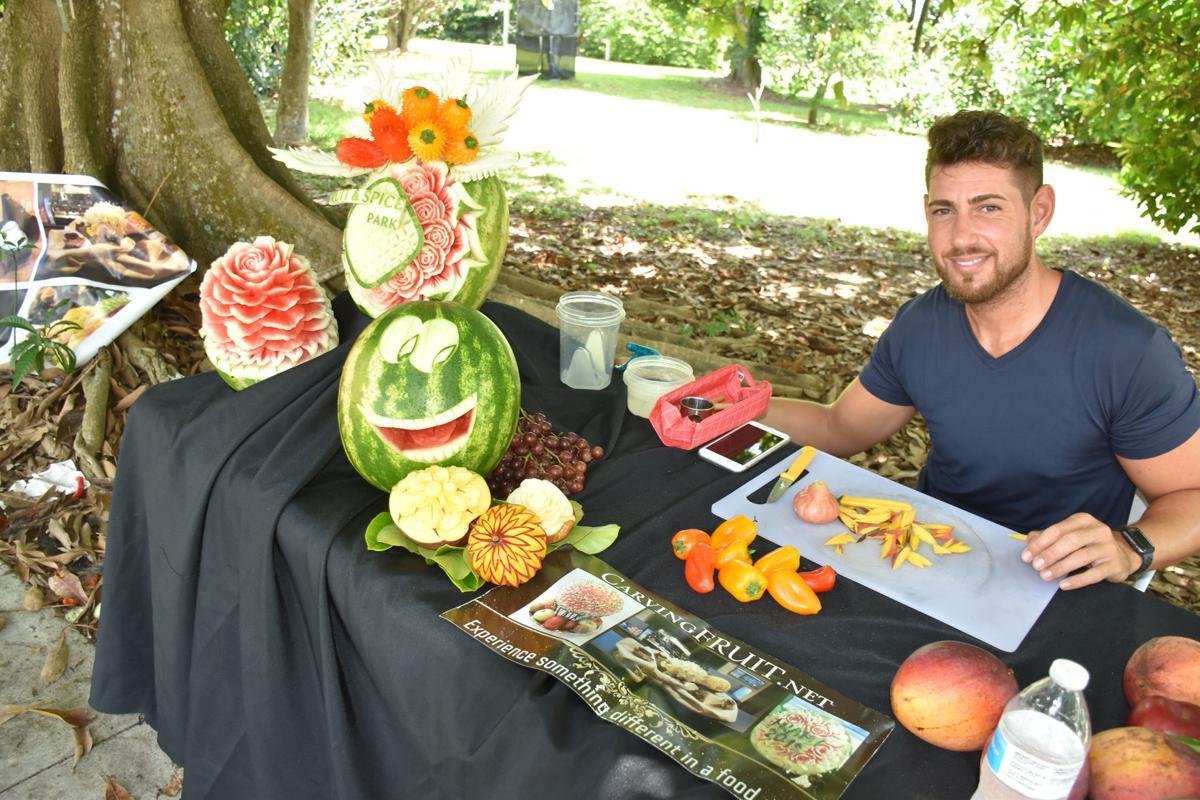 Offering a taste of fresh Redland fruit
