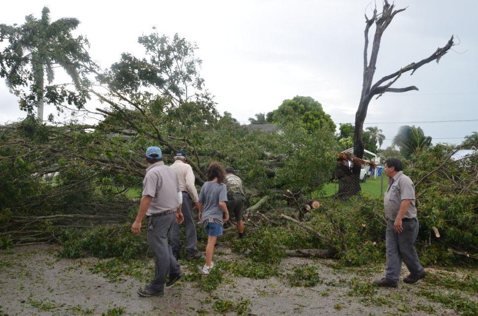 Tropical Storm Isaac Storm Damage