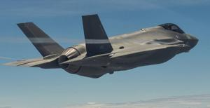 United States Air Force F-35A Lightning II Aircraft.