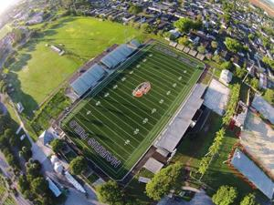 Orange Bowl Field at Harris Field Park is now a state-of-the-art football facility with new amenities for both fans and players.