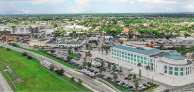 View of Homestead's 'downtown'.' The discussion on a building moratorium in Homestead will continue on Thursday February 27.