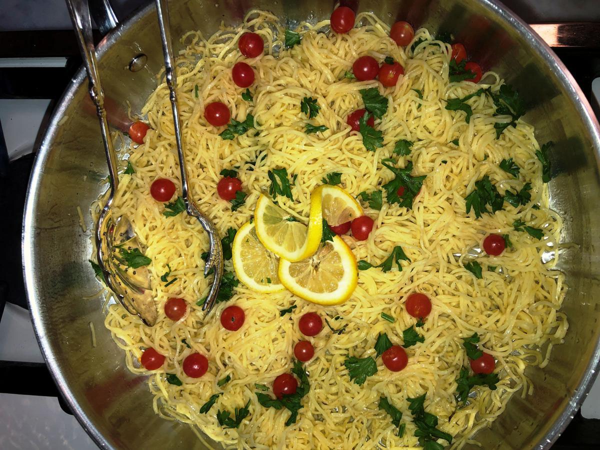 Angel Hair - Lemon - Tomato Pasta