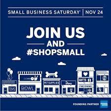 Shop Small Satuday, November 24